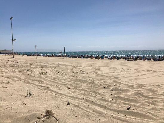Villaggio Costa del Turchese: Spiaggia bellissima e curata