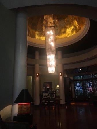 CHI, The Spa at Edsa Shangri-La, Manila: Lobby of The CHI Spa at the Shangra-LI at Edsa