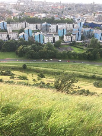 Holyrood Park: View from top of Holyrood