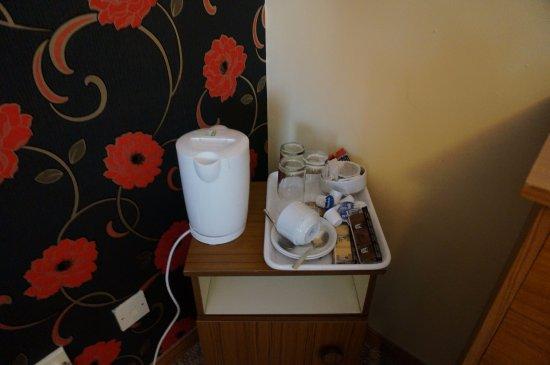 Newtownstewart, UK: coffee and tea