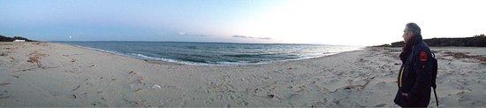 Villaggio Costa del Turchese: Spiaggia curata e bellissima