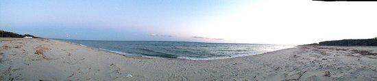 Botricello, Италия: Spiaggia curata e bellissima