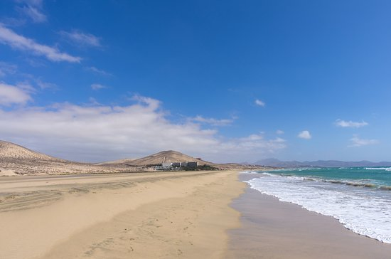 Meliá Fuerteventura: The beach in front of the hotel