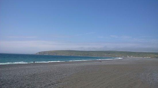 Irish Loop: St-Vincent's beach