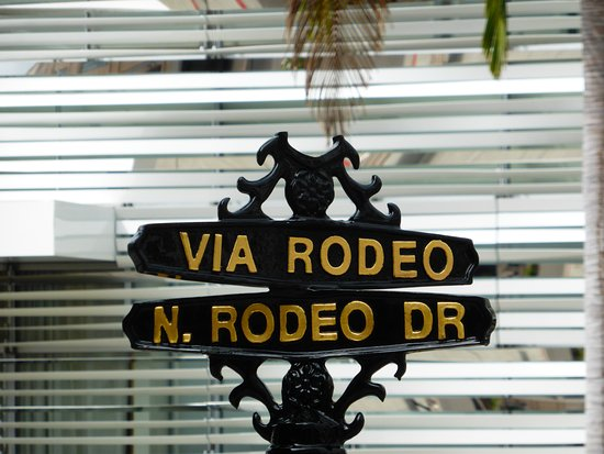 Beverly Hills, CA: Rodeo Drive, Los Angeles, Ca, USA