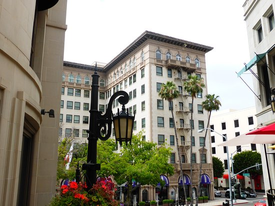 Beverly Hills, CA: Beverly Wilshire Hotel, Rodeo Drive, Los Angeles, Ca, USA