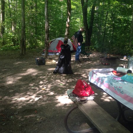 Newbury, OH: Hiking pics and large campsite