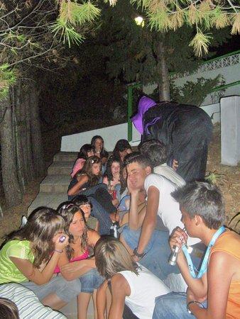 Alozaina, Spain: Вечерняя программа