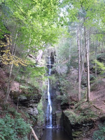 Dingmans Ferry, PA: Silver Thread falls 4