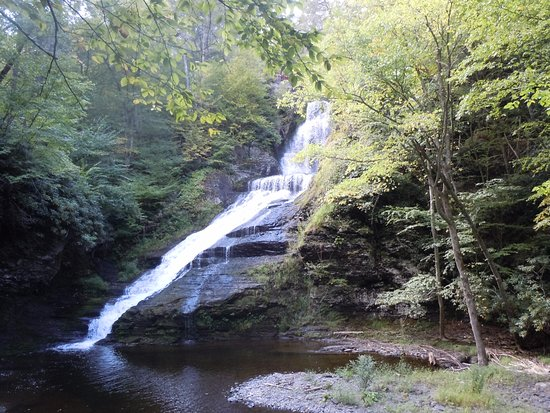 Dingmans Ferry, PA: Dingman's Falls 1