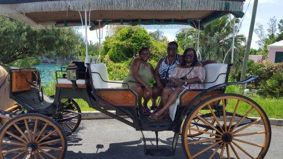 St. George, Islas Bermudas: In the carriage