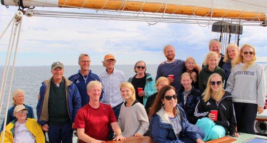 Schooner Appledore II Windjammer Cruise: Family!