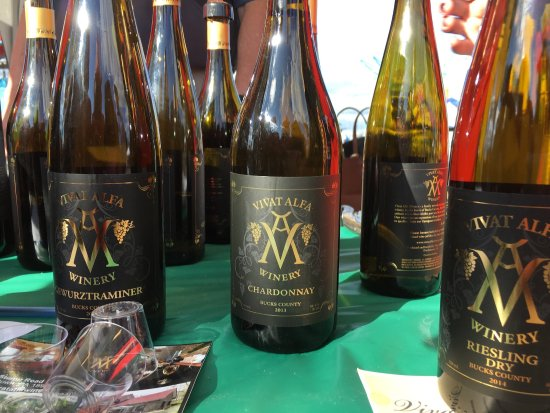 Doylestown, PA: Vivat Alfa wines