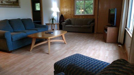 Alexandria, Миннесота: Cabin #8 Living area