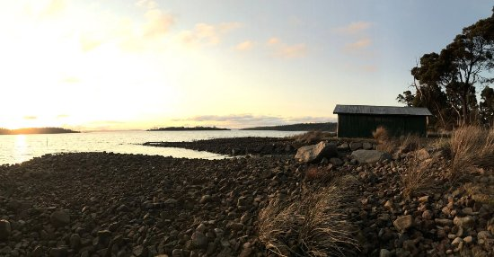 Taranna, Australië: Spring Sunset @ Four Seasons