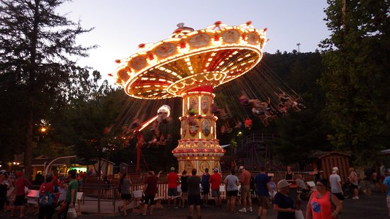 Knoebel's Amusement Resort: Italian Trapeze