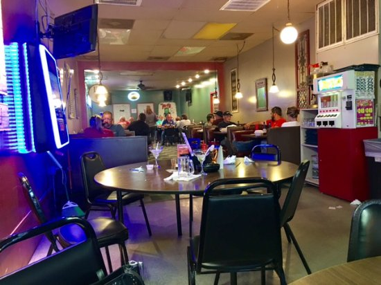 Markle, IN: The Pickle Dining Area