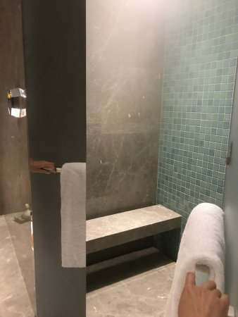 private steam room/shower - Picture of InterContinental Beijing ...