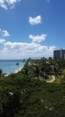 Waikiki Shore: Balcony view over Fort de Russy