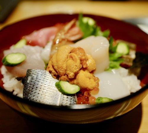 Hyatt Regency Hakone Resort and Spa: seafood rice bowl