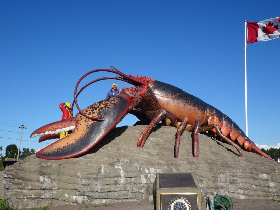 ‪Shediac's Giant Lobster‬
