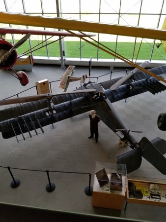 College Park Aviation Museum: Berliner helicopter 1924