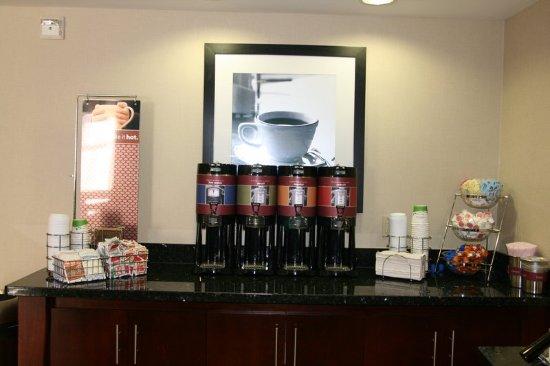 Άλπαϊν, Τέξας: COFFEE STATION