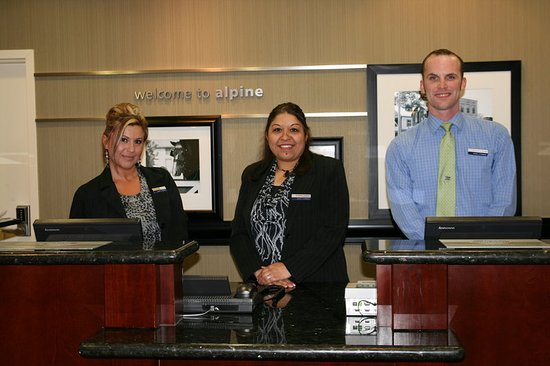 Alpine, TX: FRONT DESK