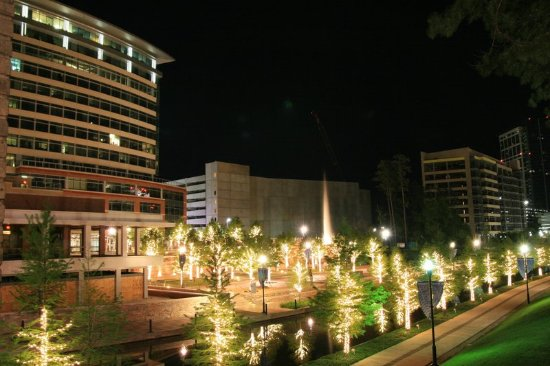 The Woodlands, TX: Waterway Fountains