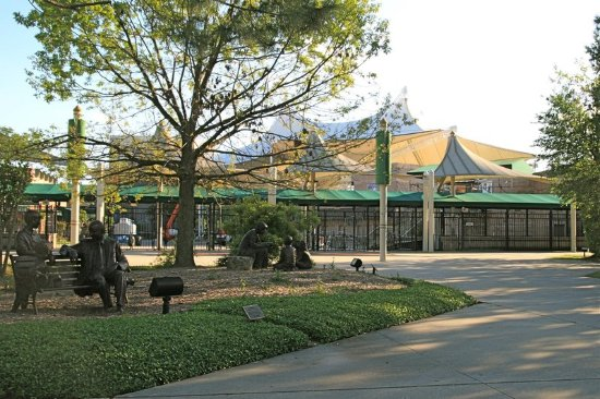 The Woodlands, TX: Mitchell Pavillion Park