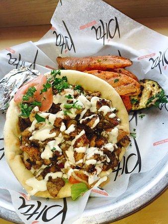 Chicken Shawarma Picture Of Pita Mediterranean Street Food Newnan