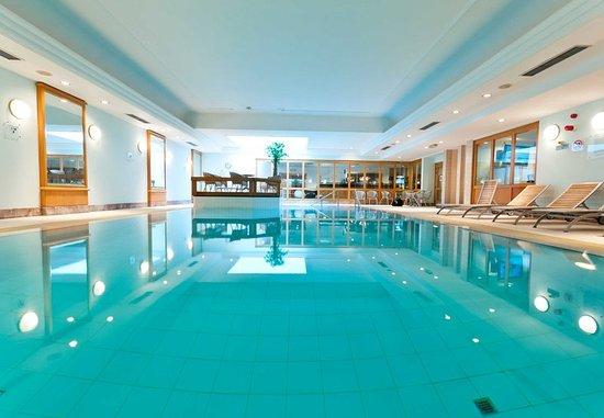 Ixelles, Belgium: World Class Fitness- Indoor Pool