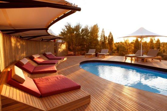 Longitude 131: Main Lodge Swimming Pool