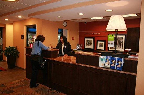 Commack, NY: Front Desk