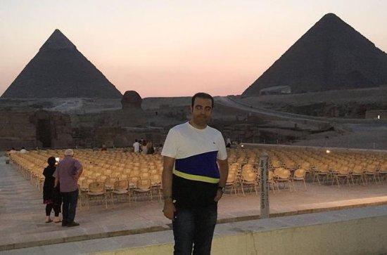 Lyd og lys Vis pyramider