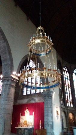 Oudenaarde, Belgia: chandeleer