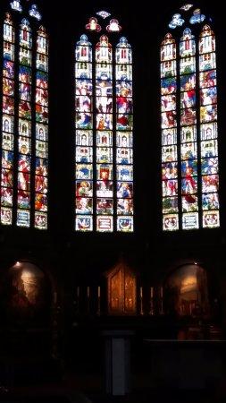 Oudenaarde, Belgia: stained glass