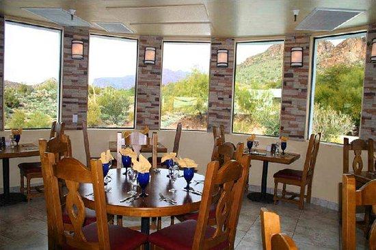 Gold Canyon, AZ: Restaurant View