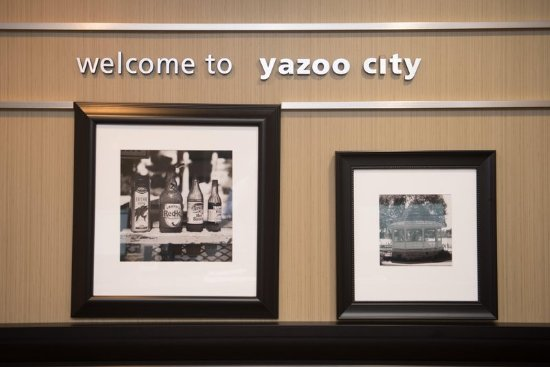 Yazoo City, MS: Welcome Sign