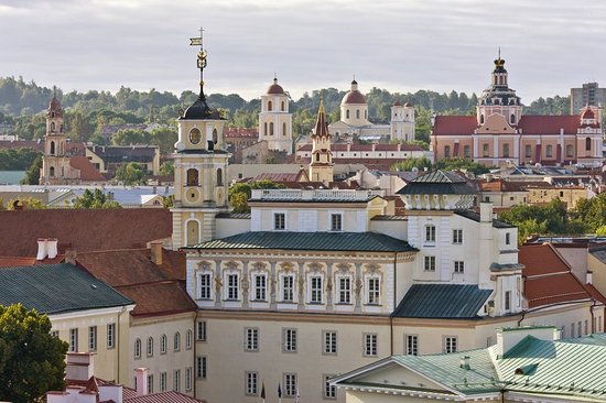 Kempinski Hotel Cathedral Square: View From The Rooftop Old Town