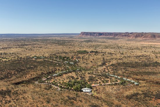 Kings Canyon Resort from above