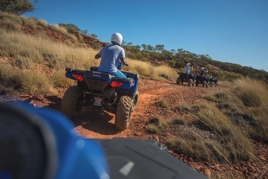 Kings Canyon, Αυστραλία: Quad Biking