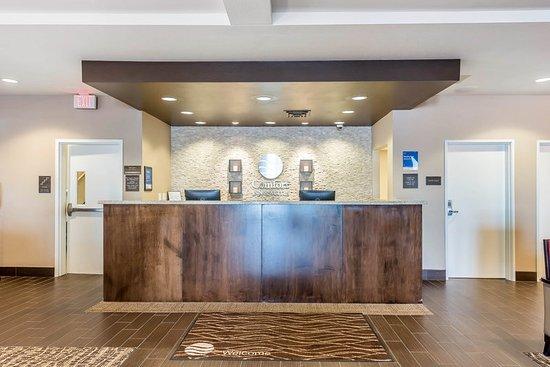 Sidney, NE: Hotel lobby