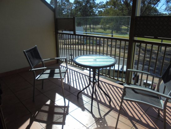 Emerald, Australia: The balcony looking out over the golf course