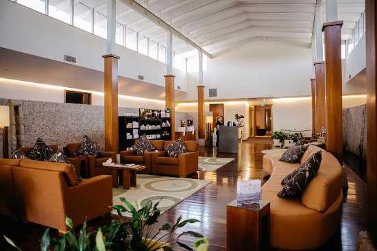 Pokolbin, Australia: Spa reception