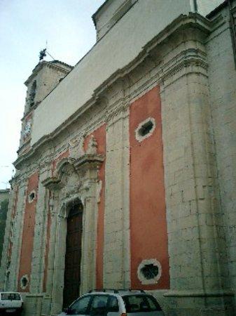 Sessano del Molise, Italie : Ingresso principale