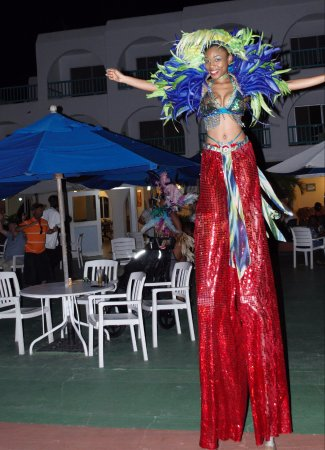 Jolly Harbour, Antigua: Entertainment
