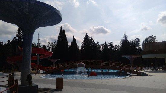 Velke Losiny, Tjeckien: venkovní bazény