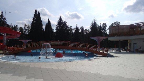 Velke Losiny, Republika Czeska: venkovní brouzdaliště