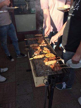 Dieren, Nederländerna: Goed verzorgde BBQ
